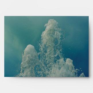 Fountain jet envelope