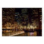 Fountain Lights New York City Card