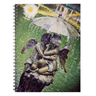Fountain Love Notebook