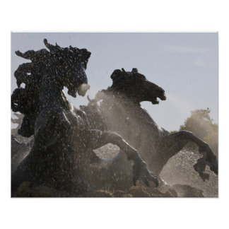 Fountain, Monument des Girondins, Bordeaux, Poster