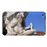 Fountain of Four Rivers on Piazza Navona. Rome, Case-Mate iPod Touch Case