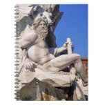 Fountain of Four Rivers on Piazza Navona. Rome, Note Book