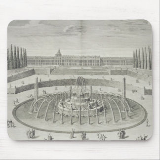 Fountain of Latone at Versailles, 1714, from 'Les Mouse Pad