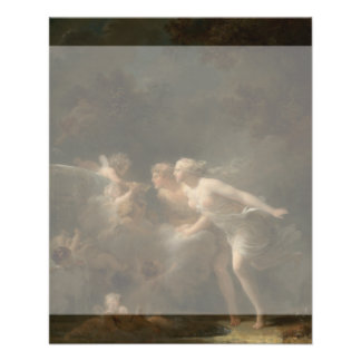 Fountain of Love by Jean-Honore Fragonard Flyer