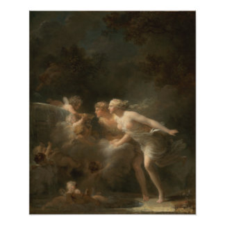 Fountain of Love by Jean-Honore Fragonard Photo