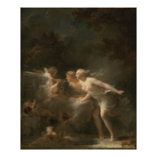 Fountain of Love by Jean-Honore Fragonard Photograph