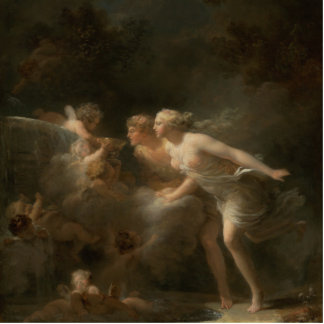 Fountain of Love by Jean-Honore Fragonard Photo Sculptures