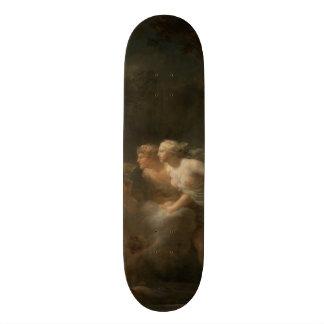 Fountain of Love by Jean-Honore Fragonard Skateboard Deck