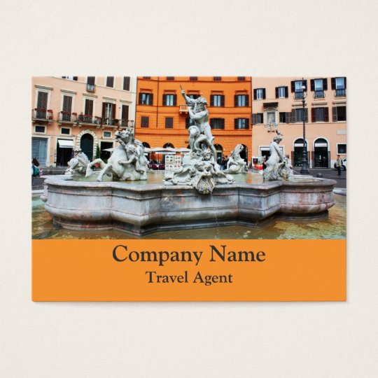 Fountain of Neptune Business Card