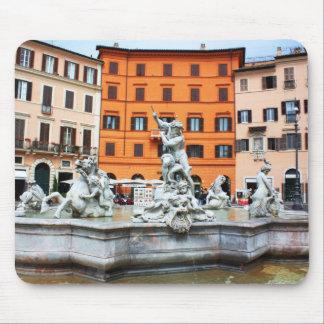 Fountain of Neptune Mousepad