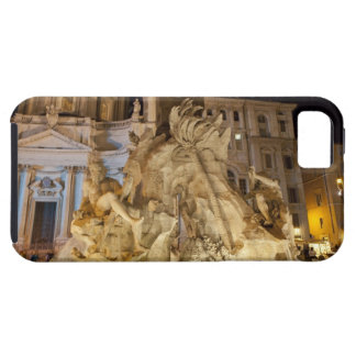 Fountain of the 4 Rivers Piazza Navona Rome iPhone 5 Cases