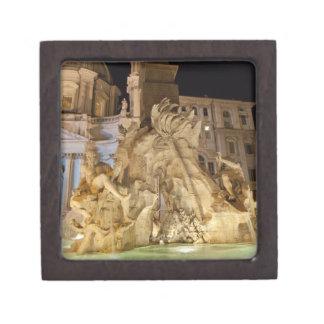 Fountain of the 4 Rivers, Piazza Navona, Rome Jewelry Box