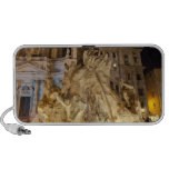 Fountain of the 4 Rivers, Piazza Navona, Rome iPhone Speakers
