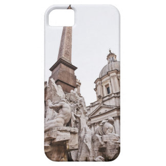 Fountain of the Four Rivers and Obelisk iPhone 5 Covers