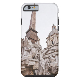 Fountain of the Four Rivers and Obelisk Tough iPhone 6 Case