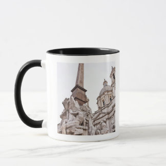 Fountain of the Four Rivers and Obelisk Mug