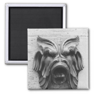 Fountain of the Four Seasons 2 Inch Square Magnet