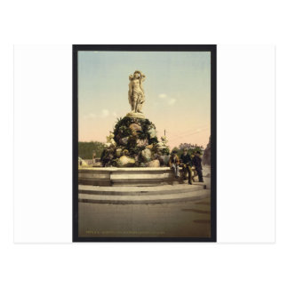 Fountain of the Three Graces, Montpelier, France Postcard