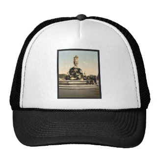 Fountain of the Three Graces, Montpelier, France v Trucker Hat