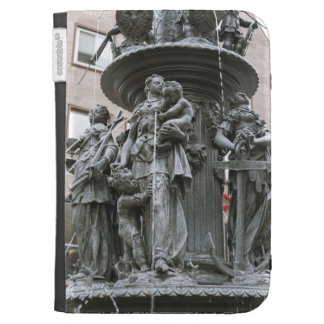 Fountain of the Virtues in Nuremberg Kindle 3G Cases