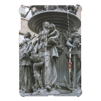 Fountain of the Virtues in Nuremberg iPad Mini Cover