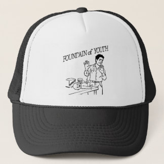 """Fountain of Trucker Hat"