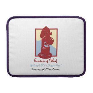 """Fountain of Woof - 13"""" MacBook Air Sleve Sleeve For MacBook Air"""