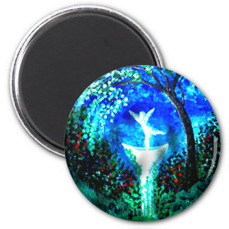 Fountain of Youth 2 Inch Round Magnet