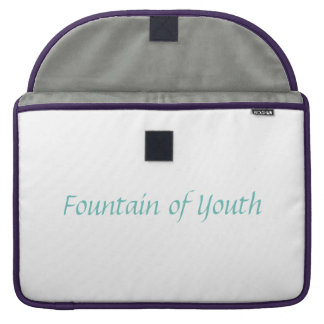 Fountain of Youth Azure Laptop Sleeve