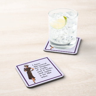 Fountain of Youth Beverage Coaster