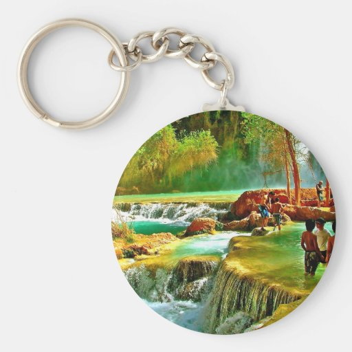 Fountain of Youth Key Chains