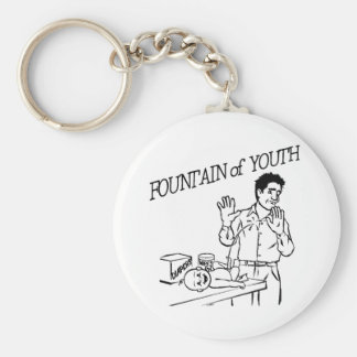 """""""Fountain of Youth"""" Keychain"""