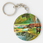 Fountain of Youth Keychains