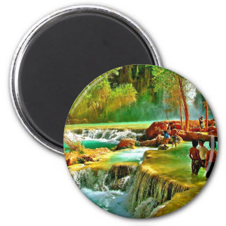 Fountain of Youth Refrigerator Magnet