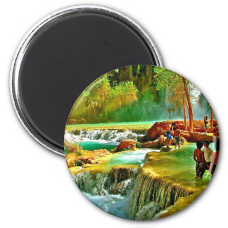 Fountain of Youth Fridge Magnet