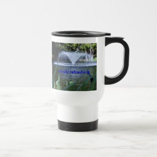 fountain of youth 15 oz stainless steel travel mug