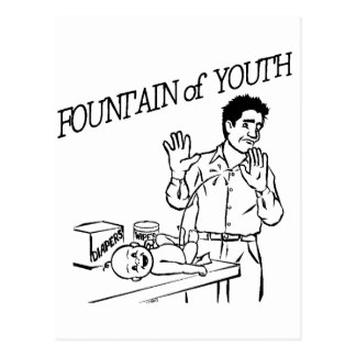 """""""Fountain of Youth"""" Post Card"""