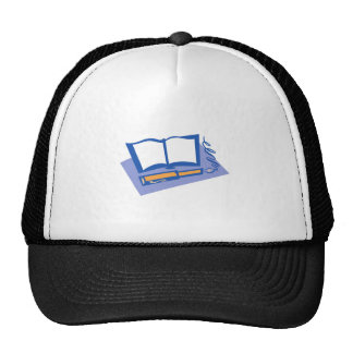 Fountain Pen and Book Mesh Hats