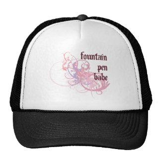 Fountain Pen Babe Trucker Hat