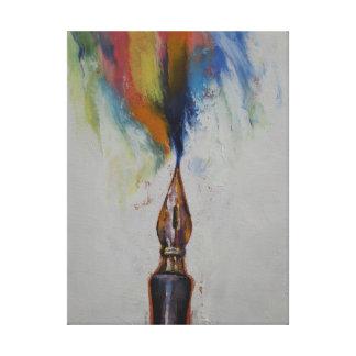 Fountain Pen Canvas Print