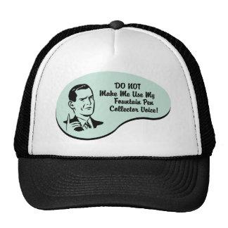 Fountain Pen Collector Voice Mesh Hat