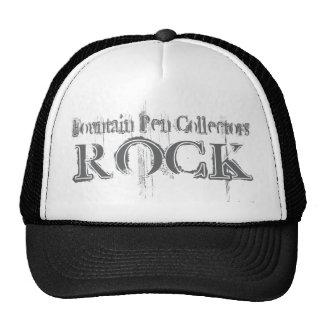 Fountain Pen Collectors Rock Hats