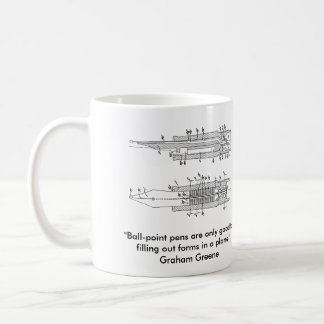 Fountain pen nib mug
