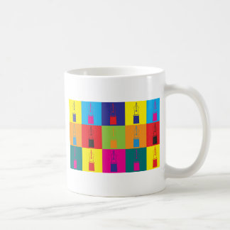 Fountain Pens Pop Art Coffee Mug