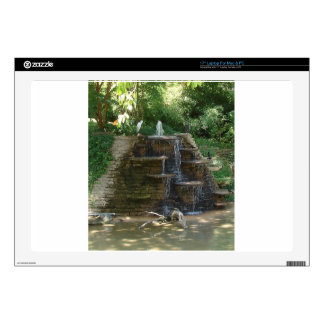 """""""Fountain """" Photography by Carter L. Shepard 17"""" Laptop Decal"""