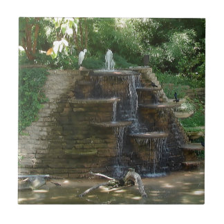 """""""Fountain """" Photography by Carter L. Shepard Ceramic Tile"""