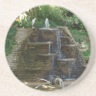 """""""Fountain """" Photography by Carter L. Shepard Drink Coaster"""