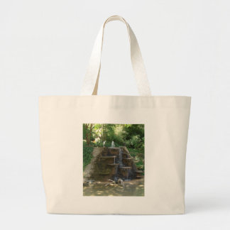"""""""Fountain """" Photography by Carter L. Shepard Large Tote Bag"""