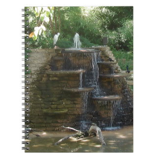 """""""Fountain """" Photography by Carter L. Shepard Notebook"""