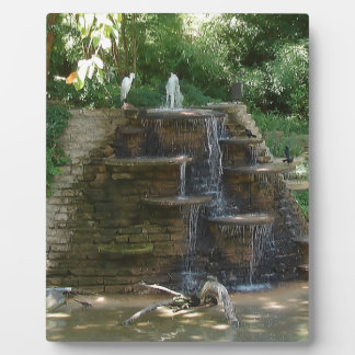 """""""Fountain """" Photography by Carter L. Shepard Plaque"""